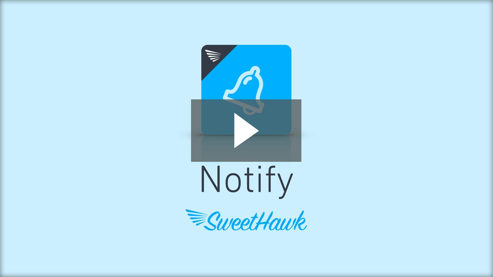 Play Notify video