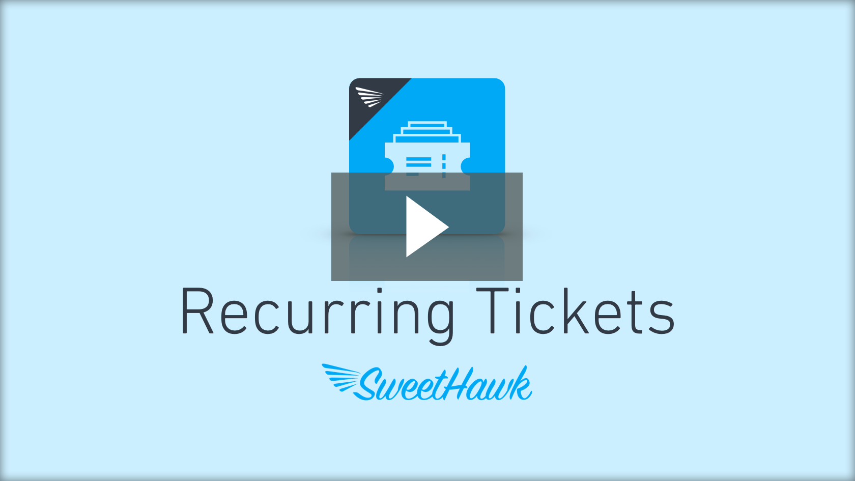 Watch the Recurring Tickets app video