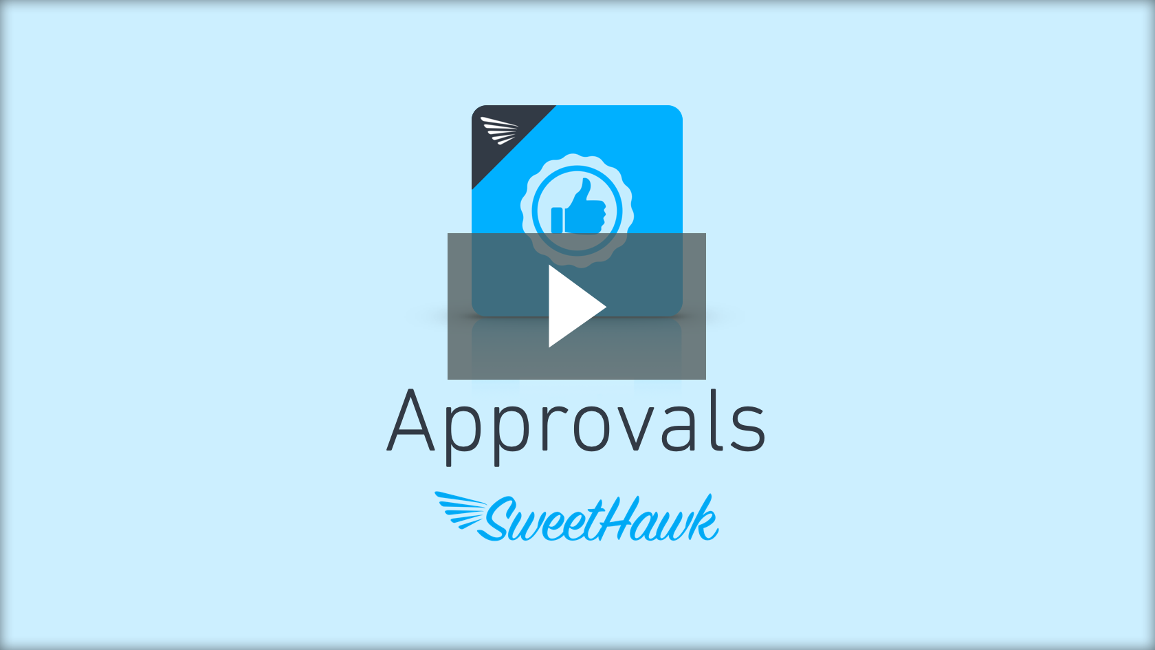 Watch the Approvals app video