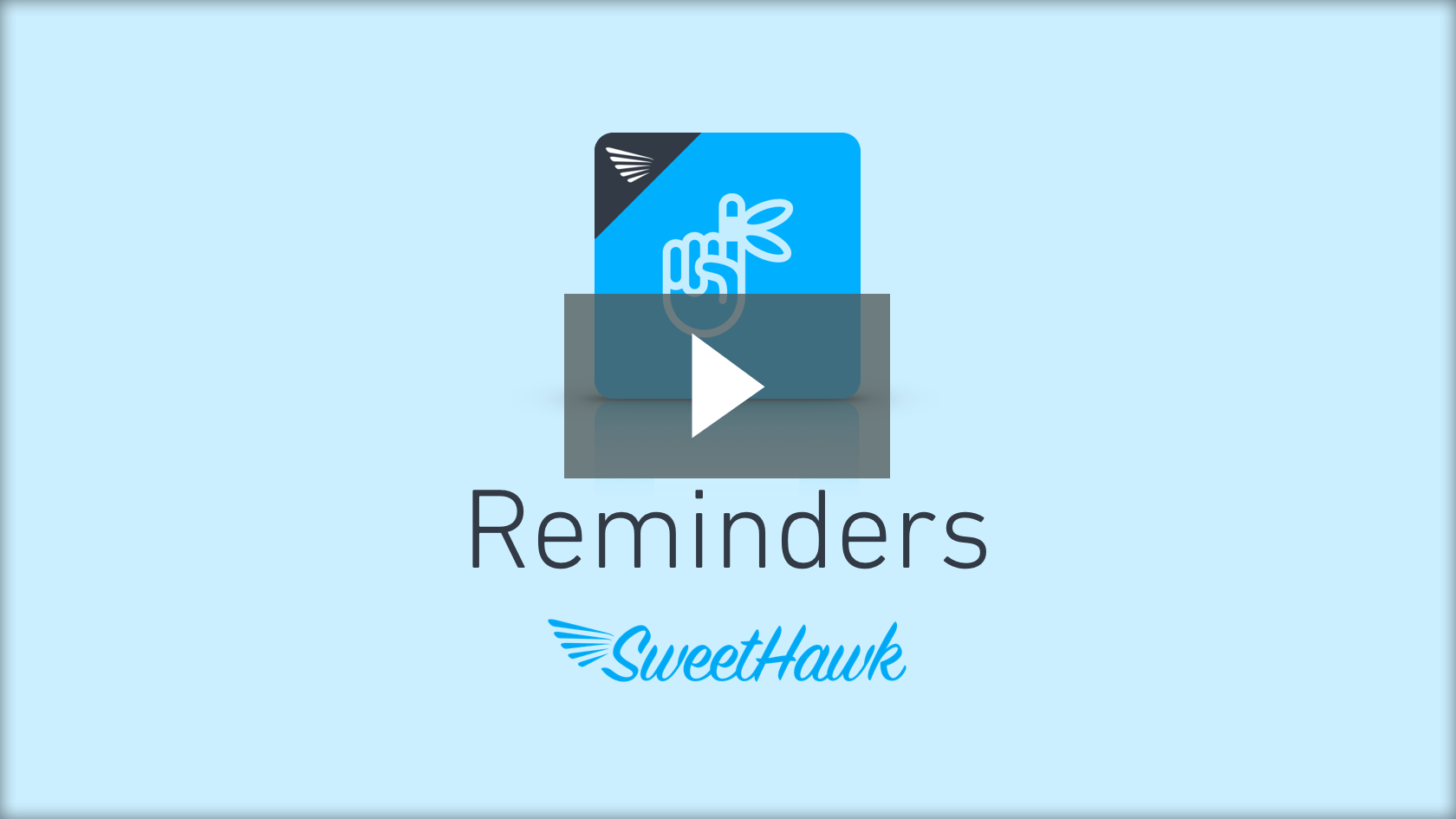 Watch the Reminders app video
